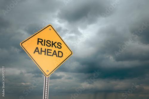 Fotografie, Obraz  Risks Ahead