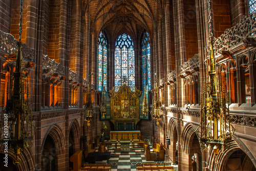 Anglican Cathedral Church of Christ in Liverpool.