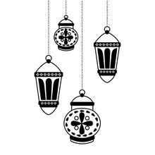 Hanging Lanterns Decoration