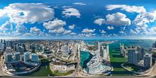 Downtown Miami 360 Aerial Pano...