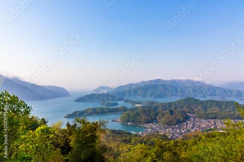 Photo sur Aluminium Kyoto Sea and mountain scenery of Maizuru city, Kyoto Prefecture, Japan