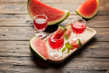 Sweet Alcohol Liquor With Watermelon