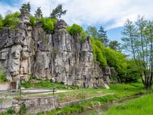 Felsenlandschaft In Der Fränk...