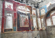 Frescoes In The Archaeological...