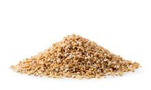 Heap Of Dry Wheat Groats On A ...