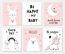 Cute Posters With Little Bunny...
