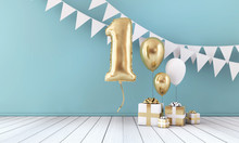 Happy 1st Birthday Party Celeb...