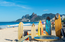 Amazing View Of Ipanema Beach,...