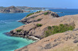 Bukit Merese Hill popular for tourists and surfers in South Lombok, Indonesia