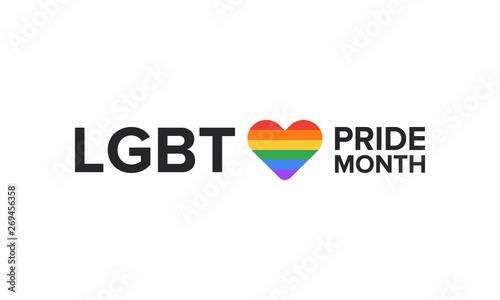 Fotografía  LGBT Pride Month in June