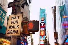 New York Foto Urbana Scattata Per Le Srade Della Grande Mela