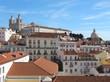 Church sao Vincente de Fora in Lisbon in Portugal