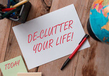 Word Writing Text De Clutter Y...