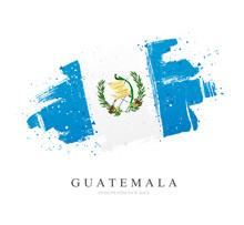 Flag Of Guatemala. Vector Illu...