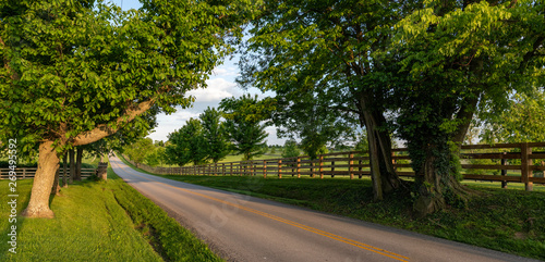 Fotografia Kentucky scenic byway banner