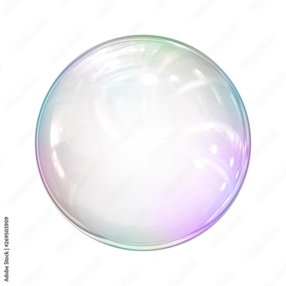 Fototapety, obrazy: soap bubble background illustration