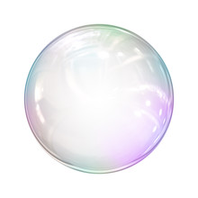 Soap Bubble Background Illustration