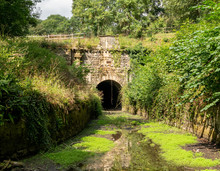 Coates Portal Of Sapperton Tunnel, Thames - Severn Canal, Cotswolds, United Kingdom