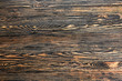 canvas print picture Closeup view of wooden texture