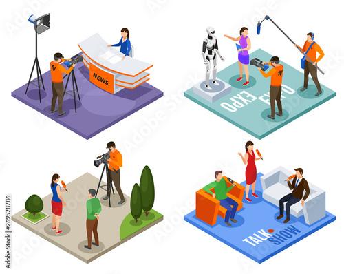 Photo Broadcasting 2x2 Design Concept