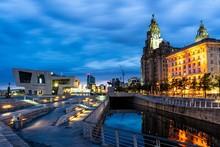 Liverpool Merseyside By Morning