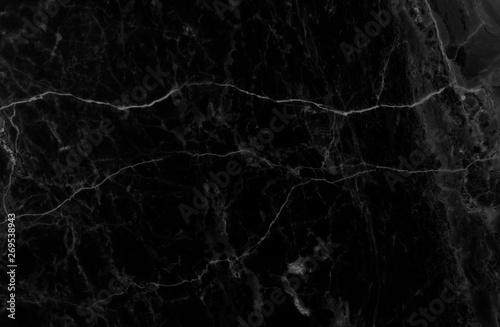Photo sur Toile Les Textures Black marble