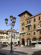 San Vito square in Treviso. Veneto region. Italy