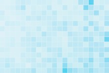 Gradient Of Abstract Blue Grid...