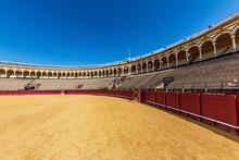 Bullring In Seville Spain