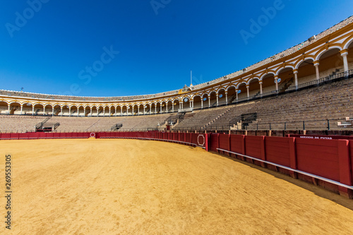 bullring in seville spain