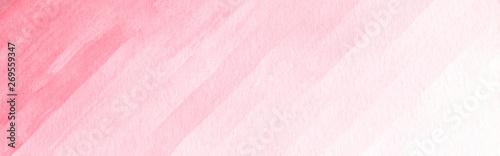 Fototapeta Watercolor background texture soft pink. Abstract pink tones. obraz