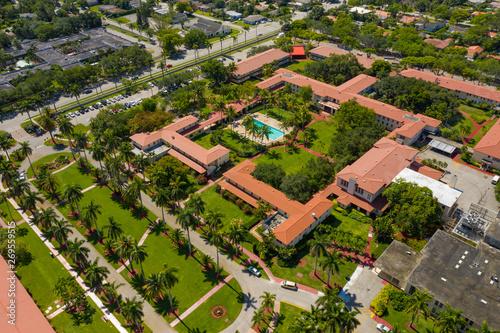 Photo Aerial photo Barry University Miami Florida college campus