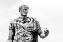 Statue Of Roman Emperor Julius...