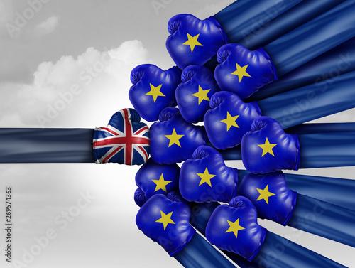 Fényképezés  United Kingdom Europe Fight