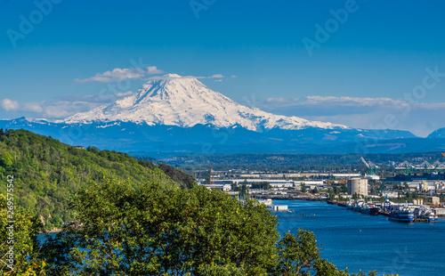 Foto  White Mount Rainier 4