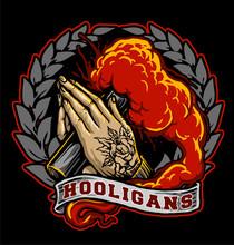 Illustration Of  Hooligans Ult...