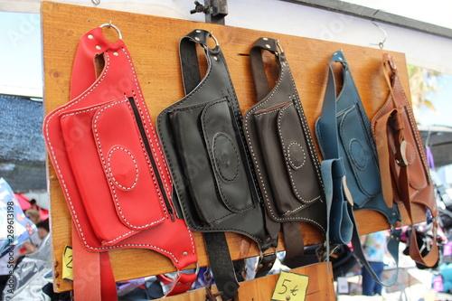 Cuadros en Lienzo  Leather fanny packs hand made