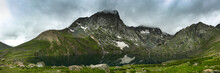 Panoramic View Of Kishan Sar( Great Lakes Trek) Kashmir
