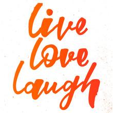 Live Love Laugh Handlettering ...