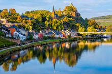 Saarburg Town On Saar River, Saarland, Germany