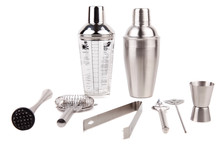 Cocktail Shakers, Strainer And...