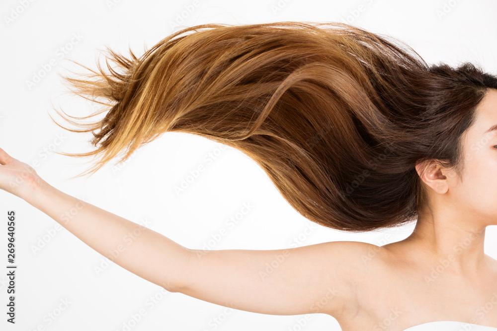 Fototapeta 躍動感ある髪