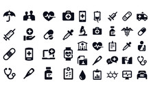 Medical And Healthcare Icons V...
