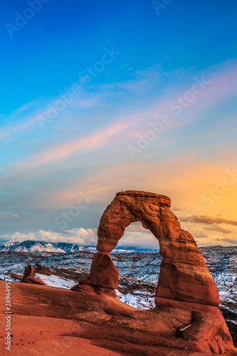 Photo Delicate Arch, Arches National Park Utah
