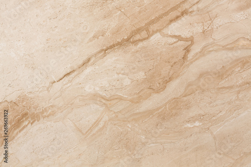 Foto auf Gartenposter Marmor Beige travertine texture for perfect design.
