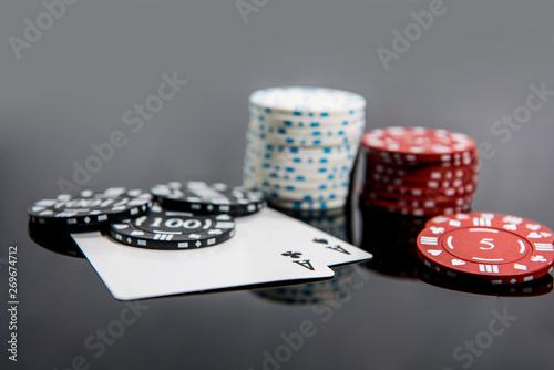 Photo  Casino abstract photo