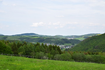 Fototapeta na wymiar hohe Eifellandschaft