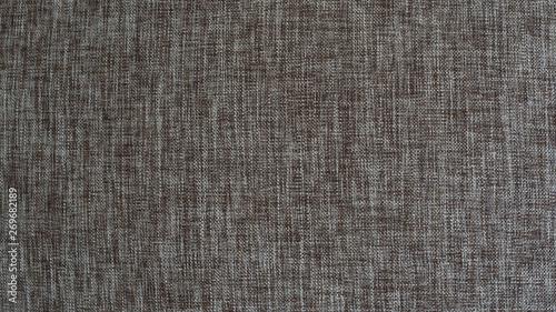 Valokuva  Crosshatch fabric texture of brown and white