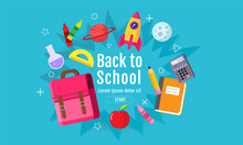 Back To School Sale Banner, Po...