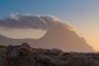 Monte Cofano al tramonto